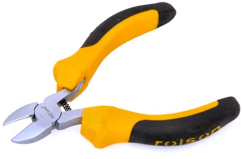 Rolson Mini Seitenschneider, gelb, 21015