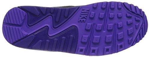Nike - Air Max 90 Essential, Sneakers da donna BLK/CRT PRPL-HYPR GRP