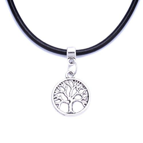 black-real-leather-cord-charm-choker-necklace-pendant-retro-hippy-tibetan-silver-for-women-girl-23-t