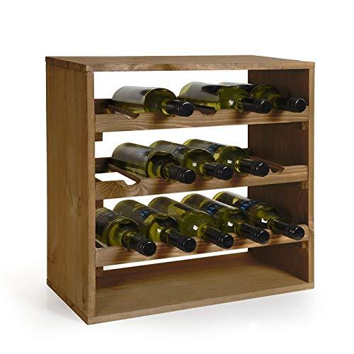 Kesper Weinflaschen - Regalsystem für 15 Flaschen - Bar-server-möbel