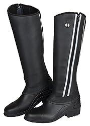 Covalliero Unisex Gronland Thermo Winter Boots-Black, Größe 36, Unisex, 325740, Schwarz, 42