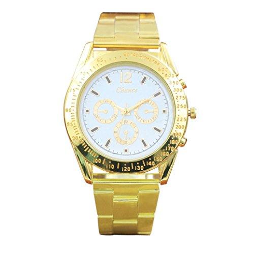 Uhren DELLIN Tachymeter Steel Watch Six Pin Uhren Quarz Herrenuhr (B)