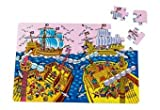 Piraten-Puzzle Spielmatte, Aufbaumaß 60 x 90 x 1,5 cm (66254250) [Spielzeug]