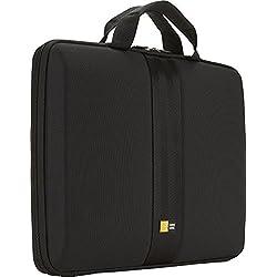 """Case Logic QNS113K Sacoche coque semi-rigide pour Ultra-portable jusqu'à 13"""" Noir"""