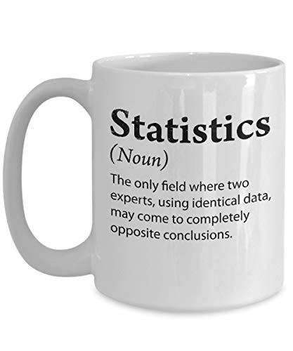 Claude6yhAly Statistik-Witz-Kaffeetasse Statistik-Geschenke Mathe-Witz Statistik-Humor Statistiker-Witz-Nerdy Becher Lustiger Definitions-Becher Geeky Becher