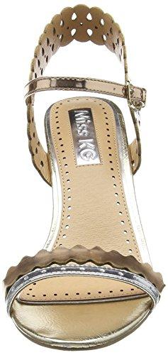 Miss KG  POSEY 2 - Chaussures à talons avec bride à l'arrière femme - Or (Gold)