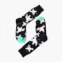 TDPYT 5Pcs / Pareja Calcetines De Tobillo Calcetines Personalizados De Las Mujeres Cortas Cuatro Temporadas De Algodón Calcetines Divertidos