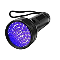 UV Flashlight Black Light, 51 LED Flashlights, Blacklight Detector Torch Lighting for Dog Cat Pet Urine Detector Stain Bed Bug Scorpion Detection