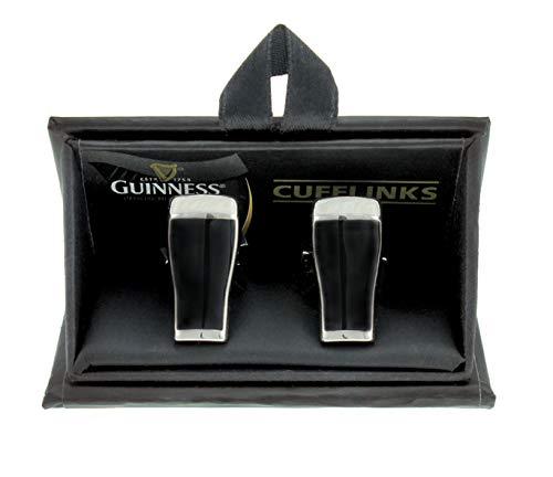 Guinness 3D Cufflinks, Pint Design