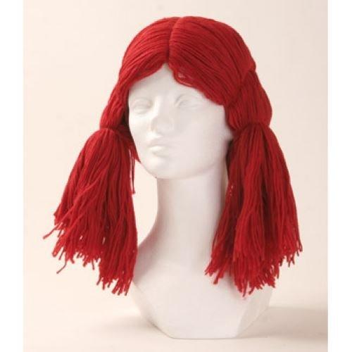 Perücken Kostüm Morris - Morris Costumes deluxe raggedy ann Perücke - rot