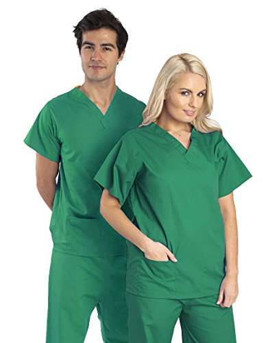 camisa-uniforme-medico-unisex-verde-m