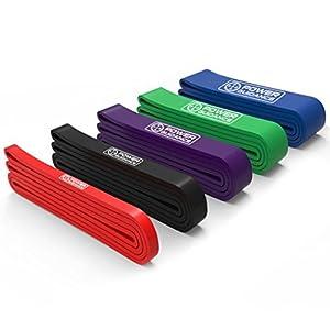 POWER GUIDANCE Fitnessbänder Pull Up Resistance Band Widerstandsbänder Perfekt für Body Stretching, Powerlifting, Krafttraining