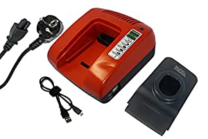 PowerSmart ® 7 v chargeur pour rYOBI-cAD norme, cAG- 180 m, distributeur 1801 m, cAP1801M, cBI1442D, cCC- cCC1801M 1801 m, cCD - 1801, cCD1201 cCG- 1801, cCS, m, cCG1801M cCG1802M - 1801/cCS, dM - 1801/cCS, lM - 1801D, cCS1801LM, cicatrice d'origine cCW-norme, cDA1802, cDC- cDA18021B cDA1802M, 181, m, cDD182L, cDI - 1801, cDI - 1802 cDI- 1802 m