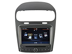 AudioCarSystem FIAT FREEMONT LEAP DODGE JOURNEY 2012 - Installation OEM voiture - écran tactile lecteur DVD radio MP3 USB SD MPE4 MPEG2- navigation GPS 3D - TV iPod USB - Bluetooth mains libres +++ garantie AudioCarSystem+++