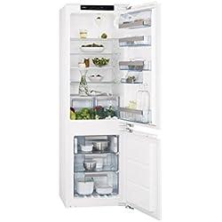 AEG - frigorifero rovesciato SCN 81800 C0 d 55 cm finitura bianco