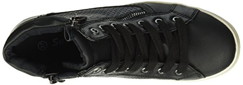 Supremo Damen 1626305 High-Top Schwarz (Black)