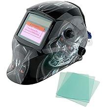 MagiDeal Casco de Máscara de Soldadura de Filtro Auto-oscurecimiento Accionado Solar Filtro Protector de