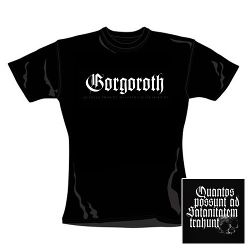 Gorgoroth - Girl Shirt Quantos (in L)