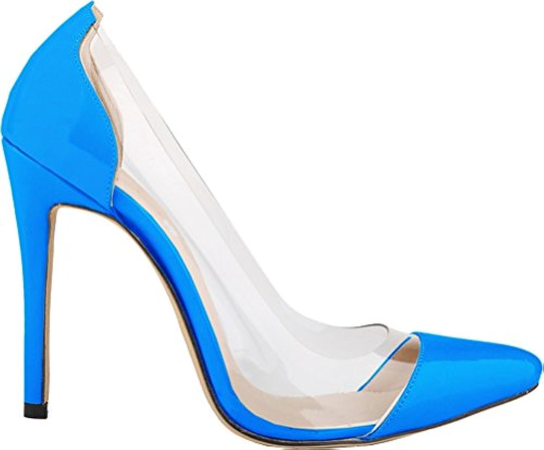Find Nice ,  s - Compensées Femme - s Bleu - Bleu Ciel, 36.5B07HJ1GH5NParent 9d69d0
