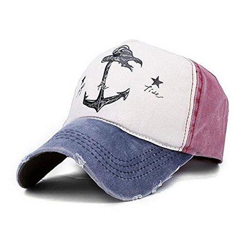 Vintage Cap (Selldorado Modernes & Stylisches Baseball Cap Im Angesagten Vintage Style Passend Zu Jedem Outfit (Bordeaux))