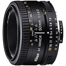 Nikon Obiettivo Nikkor AF 50mm f/1.8D, Nero [Nital Card: 4 Anni di Garanzia] (Ricondizionato)