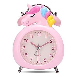 Lafocuse 10cm Despertador Infantil Unicornio