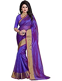 ShopSmarty Sarees For Women Latest Design Party Wear Multi Color Bhagalpuri Silk Sarees New Collection Party Wear...