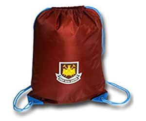 West Ham F.C Officially Licensed Souvenir Gymbag / Swimming Bag