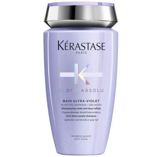 Kérastase Blond Absolu Bain Ultra-Violet 250 ml Hochwertiges Anti-Gelbstich Haarbad