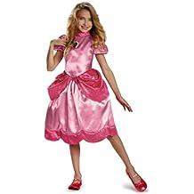 Super Mario–430084–Princess Peach clásica–7–8años–rosa