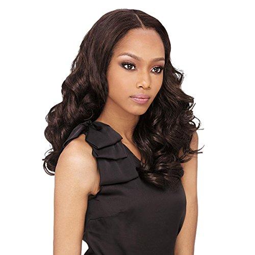 Outre Batik Luxy Curl Wvg 14'' (Heat Safe) - Tresse / Weave Extension, Farbe:F4/27 (Braun+dunkel Goldblond)