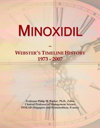 Minoxidil: Webster's Timeline History, 1973 - 2007