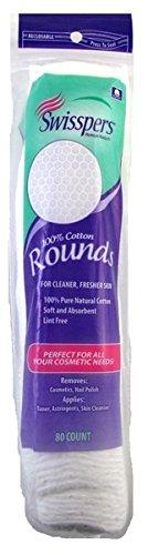 Swisspers Beauty Pads U.S. Cotton 80 Pad by U.S. Cotton