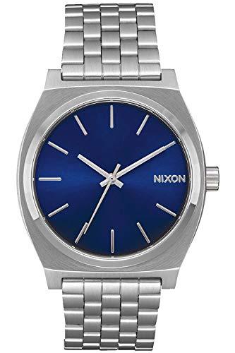 Nixon Time Teller Montre Homme Analogique Quartz avec Bracelet Acier Inoxydable A0451258