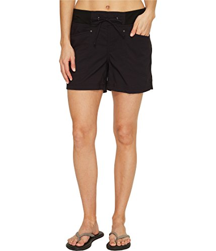 Jet Nylon Shorts (Royal Robbins Jammer Shorts Damen, Damen, Jet Black)