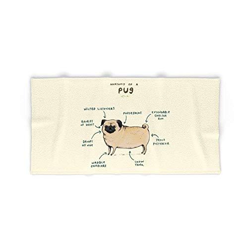 Donola carlino anatomia di un asciugamano da bagno 80x 130cm