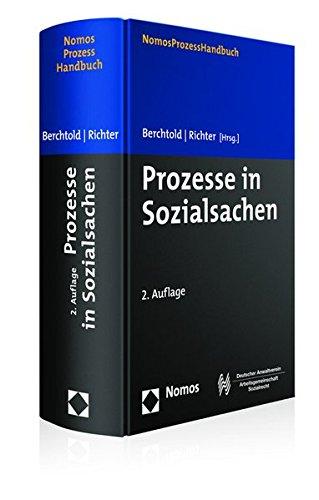 Prozesse in Sozialsachen: Verfahren | Beitrag | Leistung (Nomosprozesshandbuch)