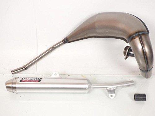 Tubo de escape completo para Yamaha DTRE de 125cc, modelos de 2004...