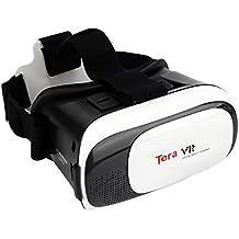 """Tera VR Gafas de video 3D de realidad virtual con diadema ajustable para un teléfono inteligente iPhone Samsung HTC etc (4,7 """"~ 6.0"""")"""