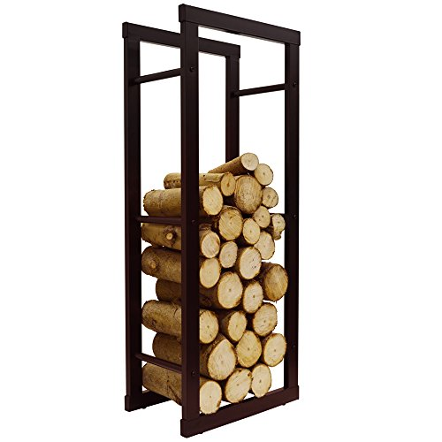 onida-metal-40cm-slimline-fireside-log-storage-rack-black
