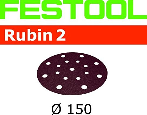 Preisvergleich Produktbild Festool StickFix Schleifscheiben STF D150/16 P80 RU2/50