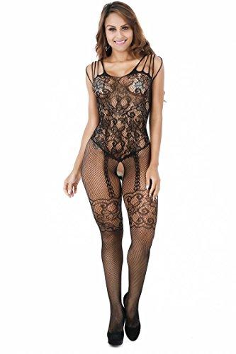 157f44ceb2 XINNALI Sexy Underwear Strap Stockings Net Clothing Temptation Siamese Body  Stockings