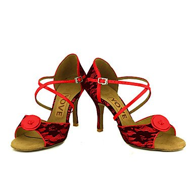Ruhe @ Damen Beruf Dance Schuhe hellgelb