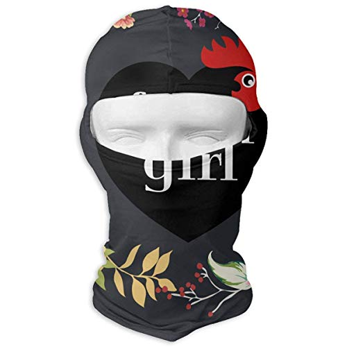 Bgejkos Farm Chicken Garland Balaclava UV Protection Windproof -