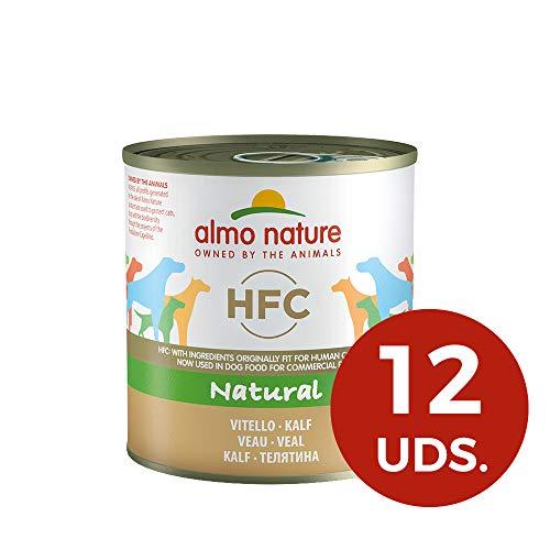 Almo Nature HFC Naturel le Veau-mouillé Nourriture pour chien (lot de 12x 280g Boîtes)