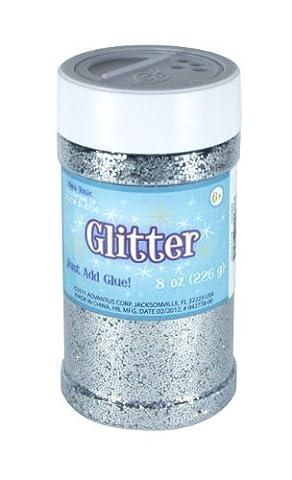Sulyn 8 oz. Glitter Jar - Silver by