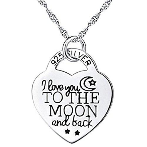 Hemore Halskette Mode Schmuck Anhänger Necklace Schlüsselbein Kette