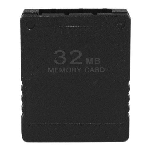 Skque 32MB Speicherkarte Memory Card für Sony PlayStation 2 PS2 Slim, schwarz
