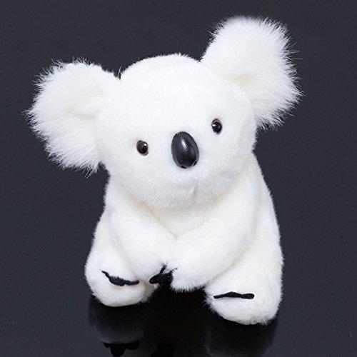 WYQLZ Simulation Koala bébé peluche maison chevet canapé Cartoon Creative enfant cadeau ( Couleur : Blanc , taille : 13cm )