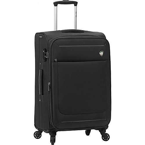 mia-toro-corvara-softside-24-spinner-luggage-black